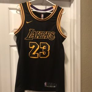 Nike Lakers jersey #24 James size 44